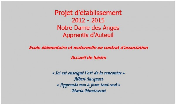ProjetEtablissement1