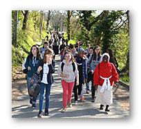 Belle et fraternelle journée à Pibrac 2015 pour quelques élèves de Notre-Dame des Anges, rencontres et échanges avec d'autres jeunes d'Apprentis d'Auteuil