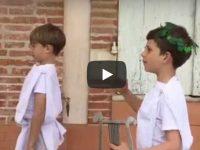Les élèves de CE2 de N-D des Anges (31) ont réalisé le court métrage Les 12 travaux d'Aladin dans le cadre du festival du film. Apprentis d'Auteuil